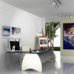 Designed Office Area (focused)