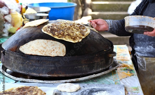 Traditional Lebanese Zaatar Bread