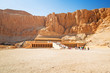 Temple of Queen Hatshepsut near the Valley of the Kings in Egypt