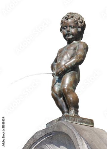 Papiers peints Statue Bruxelles - Manneken-Pis