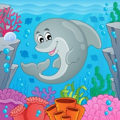Image with dolphin theme 6