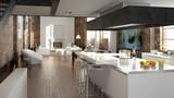 Fototapety luxus küche in einem loft