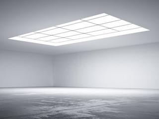 Halle mit Oberlicht