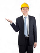 construction executive display hand