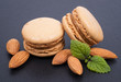 Macaroons, almonds