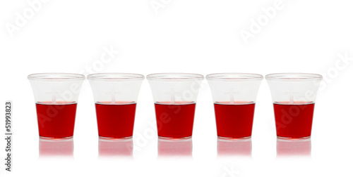 five communion cups