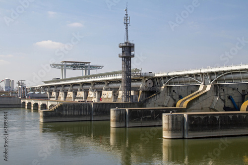 Plexiglas Kanaal Wasserkraftwerk Wien, Freudenau
