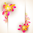 Vector Illustration Of Floral ...