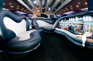 Stretchlimousine Innenausstattung Stretch limousine interior