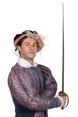 Man in TudorCostume