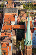 Old Town in Gdansk from Above
