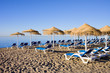 Sun Loungers on Marbella Beach
