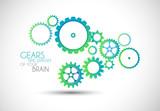 Fototapety Concept mechanic Gear illustration.