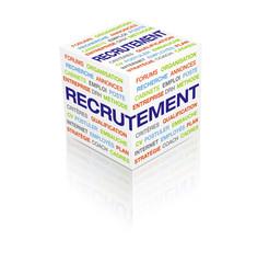 cube 3d recrutement