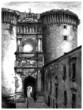 Naples : Castel-Nuovo - Architecture - View 19th century