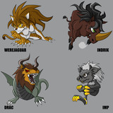 Mythical Creatures Set 24
