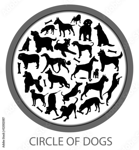Circle of Dogs - Includes Many Races and Bones