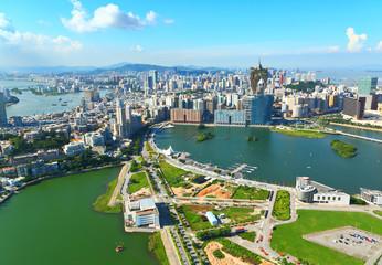 Macau skyline