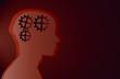 Medizin IQ Zahnrad Hirn Hintergrund Vector