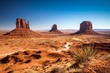 Leinwanddruck Bild - Monument Valley, USA