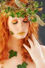 Autumn vintage make-up (Manuuu3)