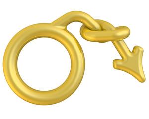 Символ мужской половой слабости
