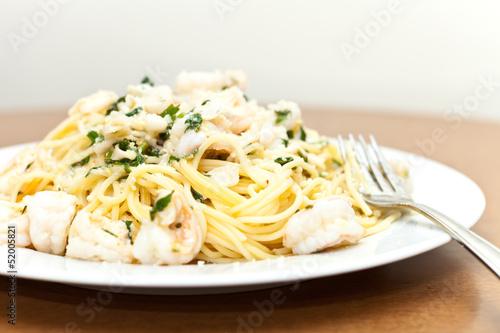 Seafood Pasta Dish