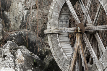 Wooden Watermill