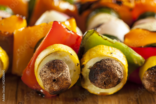Organic Grilled Vegetable shish Kebab