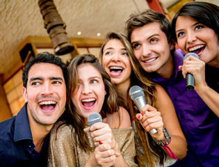 Group of people singing