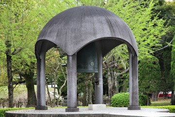 Hiroshima peace bell - Japan