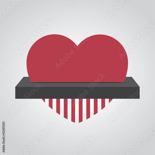 Heart fed into electronic shredder