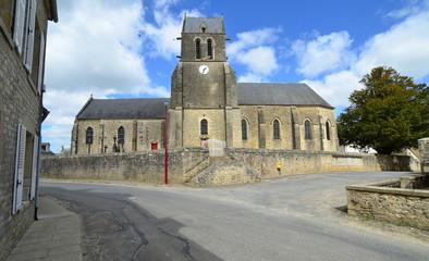 arzeville église, manche, normandie