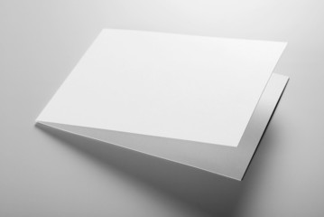 Blank stationery: postcard
