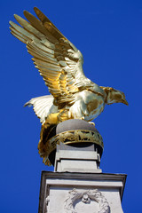 RAF Memorial on Victoria Embankment in London