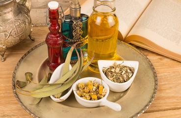 Cosmetic herbs