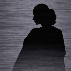 woman lady silhouette dresse