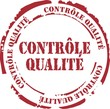 tampon contrôle qualité