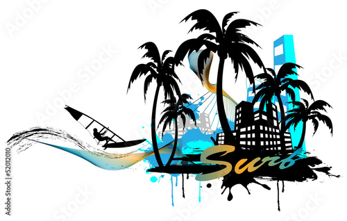 surf background