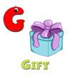 alfabeto, regalo