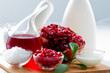 Organic cosmetics - pomegranate, healthy cosmetics