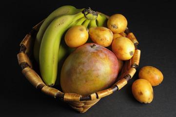 El cesto de frutas