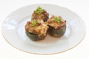 stuffed artichoke gratin