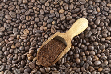 Caffè Tostato e Caffè Macinato