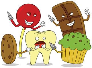 tooth enemies