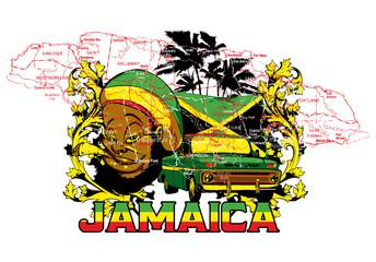 Jamaica © Tshirt-Factory.com