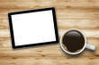 Tablet PC with Coffee