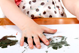 Child Make Watercolour Stain