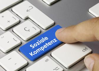 Soziale Kompetenz Tastatur