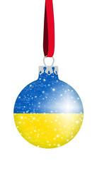 Christbaumkugel Ukraine